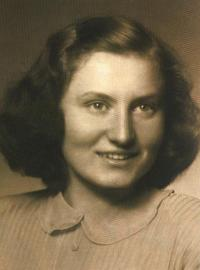 Marie, Josefova manželka, Praha, 50. léta