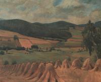 Nejmilejší motiv z dětství, 1955, 117 x 98 cm, olej