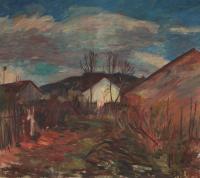 Předjaří, 1958, olej, 149 x 129 cm