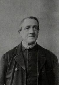 Jan Anderle (Starý Pavlíček) Josefův pradědeček z matčiny strany (zemřel 1910)
