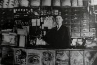 Obchod u Bělků, 1934, živnost Františka Tancera, Rojšín