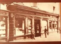 Pôvodný antikvariát Steiner v roku 1847