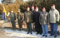 František Antl (zcela vpravo) na veteránské akci (2012)