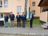 František Antl (druhý zleva) na veteránské akci (2014)