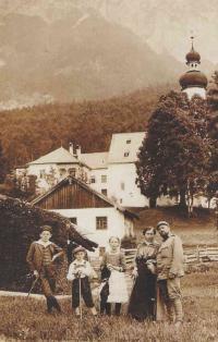 Dědeček Josef Podzimek