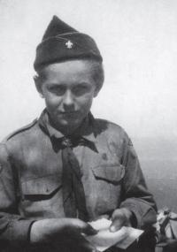 Skaut Josef Podzimek (Egil)