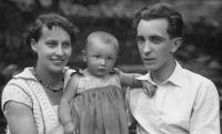 Havlůjová s rodiči