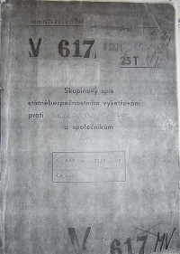 Vyšetřovací svazek Havlůjové V 617