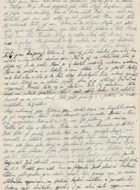 Dopis do vězení, 18. října 1954