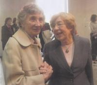 S Janou Kánskou, dcerou Milady Horákové, 2011