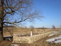 Hřbitov  v zaniklé osadě Štolnava (Prameny, něm. Stollenhau)