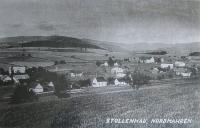 Zaniklá osada Štolnava (Prameny, něm. Stollenhau), kde byl za války Ignác Žerníček ve službě.