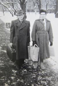 Ignác Žerníček s manželkou Marií