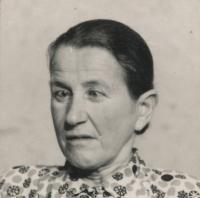 Matka Ignác Žerníčka - Terezie (narozena 1902)