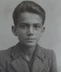 Karel Franta jako chlapec