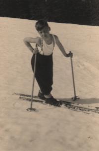 1946, Krkonoše (Giant Mountains), the witness