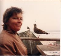 USA,Kalifornie, Del Mar,E.S. na pobřeží Pacifiku,1981