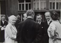 Setkání s paní CH. Martinů v ČSSR
