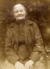 Kasal Jan - babička Julie Kasalová, Krucemburk asi 1927