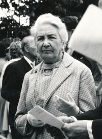 Kasal Jan - Charlotte Martinů na koncertu Pražských učitelů 11.7.1964 Praha