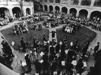 Kasal Jan - koncert orchestru pražské konzervatoře na Italském velvyslanectví v Praze 1979