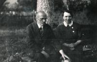 Kasal Jan - rodiče v Koupi 1940