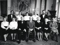 Kasal Jan - třetí z leva výbor Hlaholu 1990