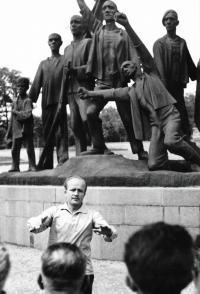 Kasal Jan - zájezd Pražských učitelů, Buchenwald 17.6.1964