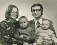 Bohumil Řeřicha s rodinou (1975)