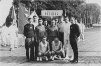 Reprezentační družstvo v moderním pětiboji, 1. 5. 1956