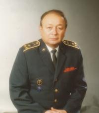 Zbyněk Čeřovský po rehabilitaci v roce 1990