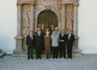 Na setkání pořádaném Svazem důstojníků Rakouska, září 1990