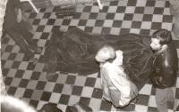 Petr Štembera – Dějiny Polska, 1979, záznam z vystoupení, dobová fotografie