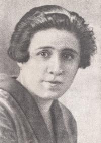 Milada Burdychová, matka Antonína Burdycha