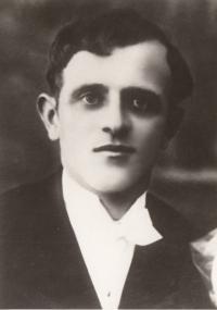 Otec Antonína Burdycha, Antonín Burdych