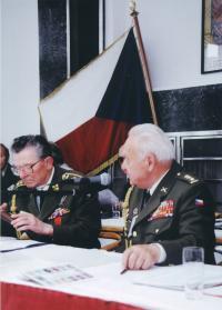 Antonín Špaček a Miloslav Masopust