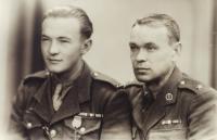 Miloslav Masopust s otcem
