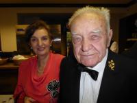 Miloslav Masapust se v 91 letech oženil, fotografie novomanželů