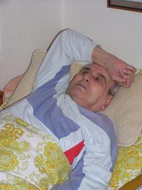 Luboš Hruška at home, May 2006 II