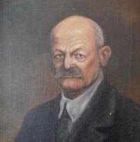Obraz otce Josefa Drozda