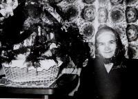 Matka Kateřina Drozdová v devadesáti letech