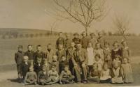 Ve škole v Hájově za války