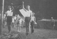 14 let, skautský tábor, Plzeň