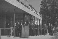 proslov při slavnostním otevření nové budovy školy v Kladrubech, 1973