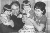 rodinná fotografie, 1975