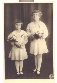 Vlasta Daňková 1930