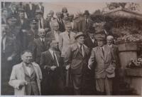 Vágenknecht - návštěva předsedy NS J. Davida o VPK 1947