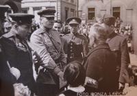 Vágenknecht - oslavy osvobození 1945