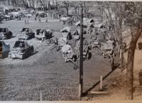 Vágenknecht - tábor rudé armády 1945