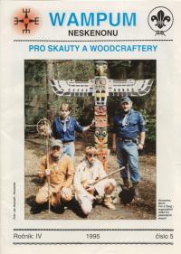 Organizátoři hry plzeňských skautů Boj o totem, 1995